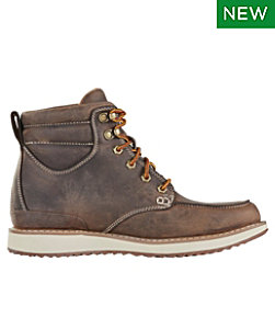 Men's Stonington Boots, Moc-Toe